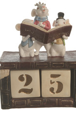 Kaemingkx6 Count Down Calendar Days till Christmas With Mouse