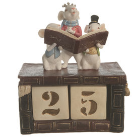 Count Down Calendar Days till Christmas With Mouse