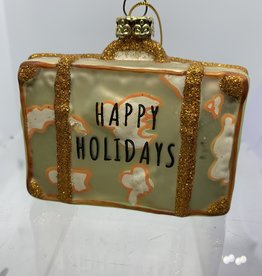 sass & belle Happy holidays hanging decoration