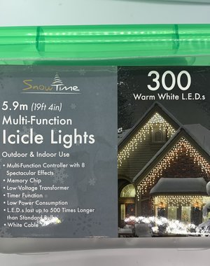 Snowtime Icicle lights multi function - indoor/outdoor