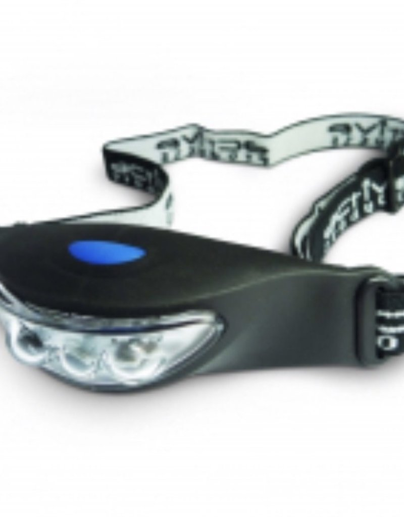 Active 3 LED Rubber Head Torch 2 x C2032 Batteries Included