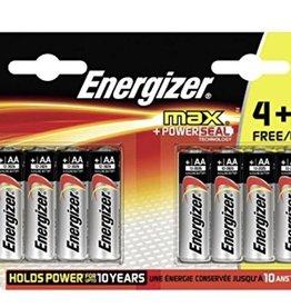 Energizer Energizer Batteries Max Powerseal AA 4+4