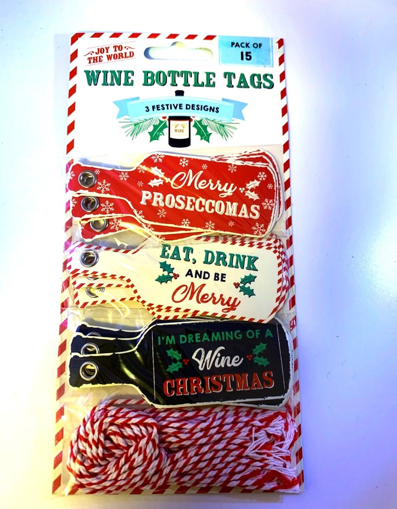 CGB Humorous Gift Tags - wine themed