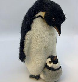 Penguin with soft (fake fur) finish