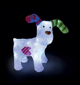 Snowtime The Snowdog Acrylic - 31cm