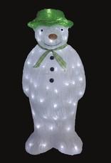 Snowtime The Snowman Acrylic 55cm
