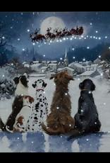 Snowtime Light up Canvas Picture