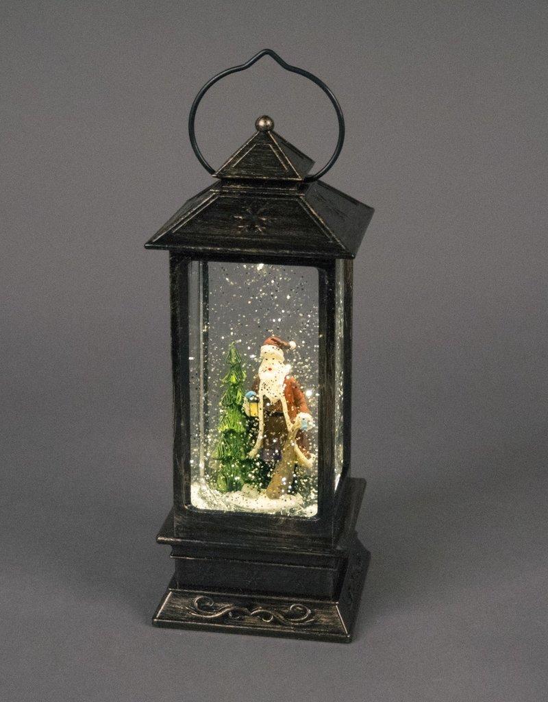 Snowtime Water Spinner Light Christmas Ornament