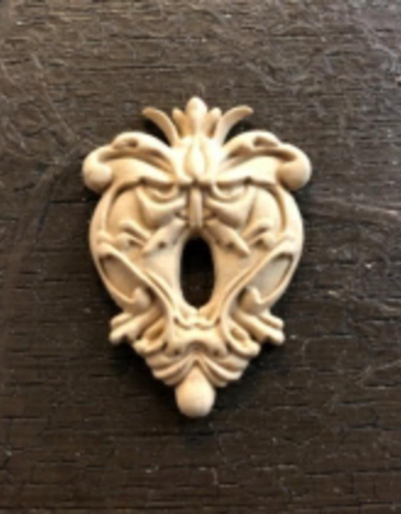 WoodUBend No. 987 key hole 3cm x 4.5cm