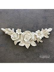 WoodUBend No. 0349 Floral arc 15.7 x 3.2cm