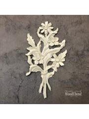 WoodUBend No. 513 Floral bouquet  22.7 x 12.6cm