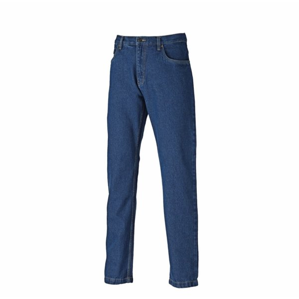Dickies Jeans stonewashed denim workwear trousers/pants