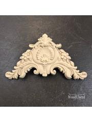 WoodUBend No. 1354 Corner scrolled  17cm x 11cm
