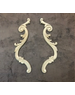 WoodUBend No. 1309 set of 2 scrolls 25cm x 4cm