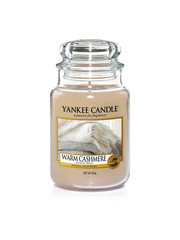 Yankee Large Jar Candle Warm Cashmere