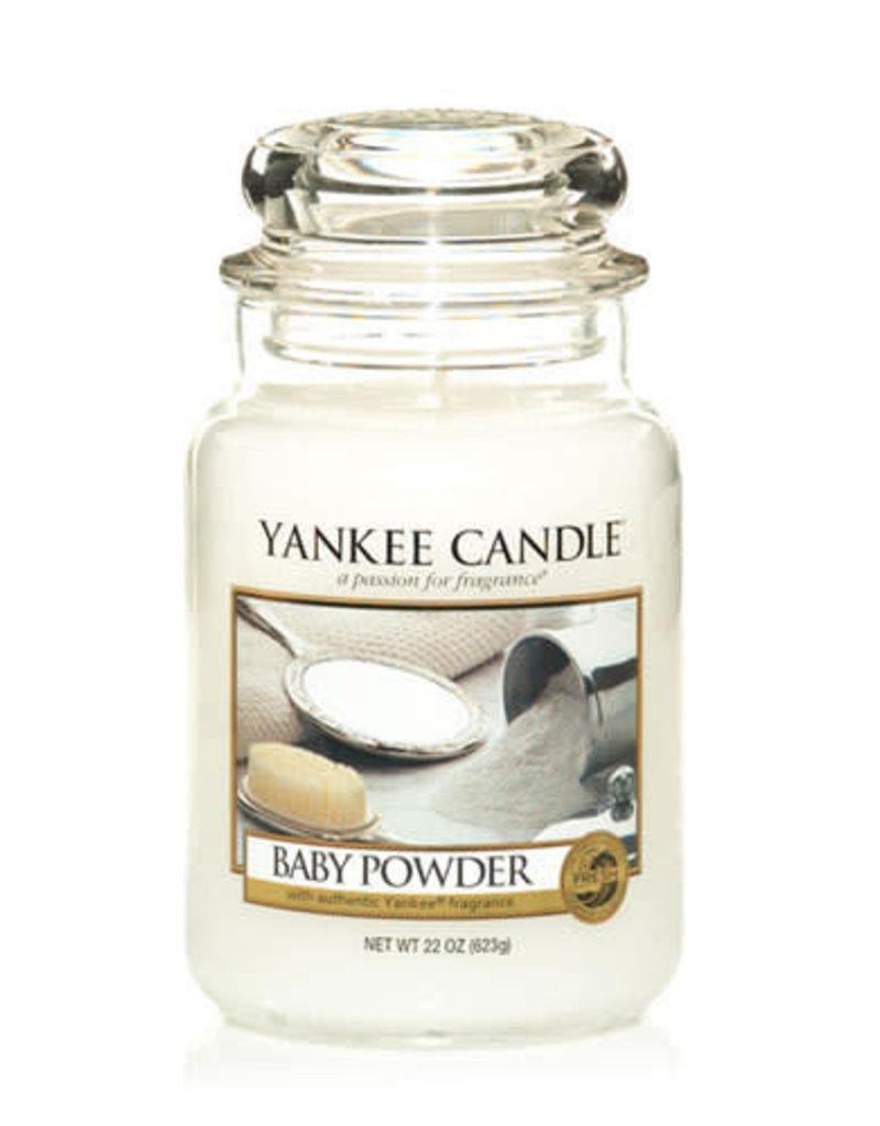 Yankee Baby Powder Large Jar Candle