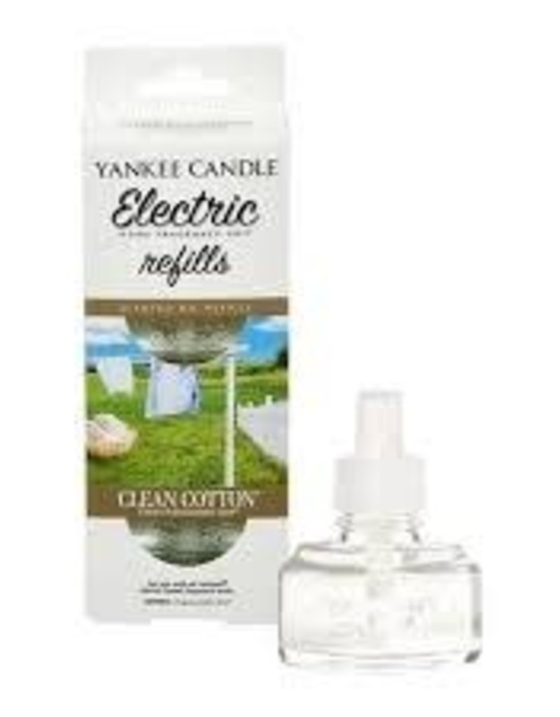 Yankee Clean Cotton Scent-Plug Refill