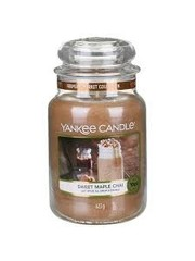 Yankee Sweet Maple Chai Large Jar Candle