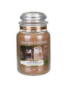 Yankee Sweet Maple Chai Large Jar Candle