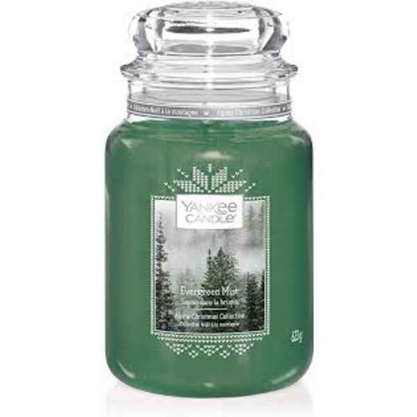 Yankee Evergreen Mist Large Jar