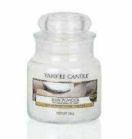 Yankee Baby Powder Small Jar Candle