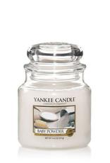 Yankee Baby Powder Medium Jar candle