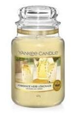 Yankee Homemade Herb Lemonade Large Jar Candle