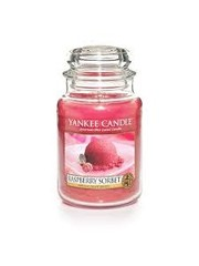 Yankee Roseberry Sorbet Large Jar Candle