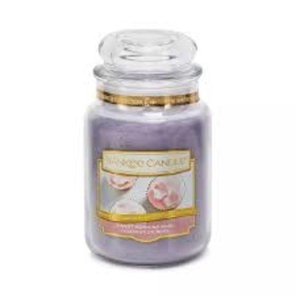 Yankee Sweet Morning Rose Large Jar Candle