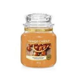 Yankee Golden Chestnut Medium Jar Candle
