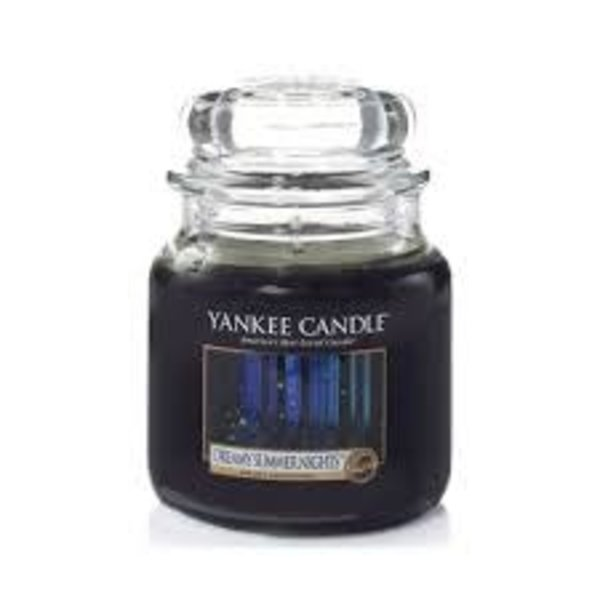 Yankee Dreamy Summer Nights Medium Jar Candle