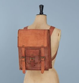 Satchel Backpack Leather