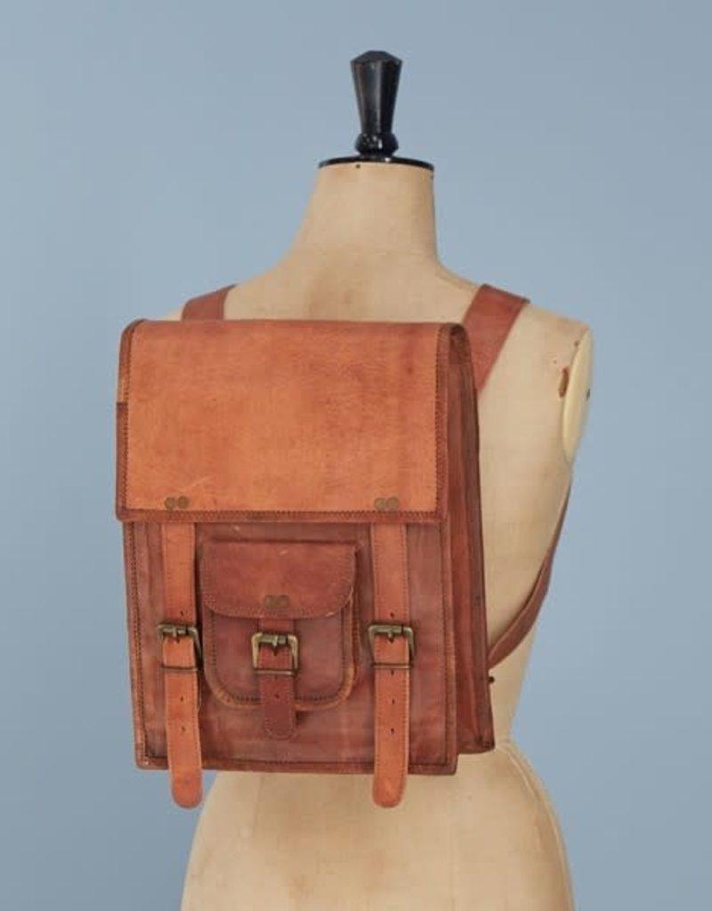 Satchel Backpack Leather