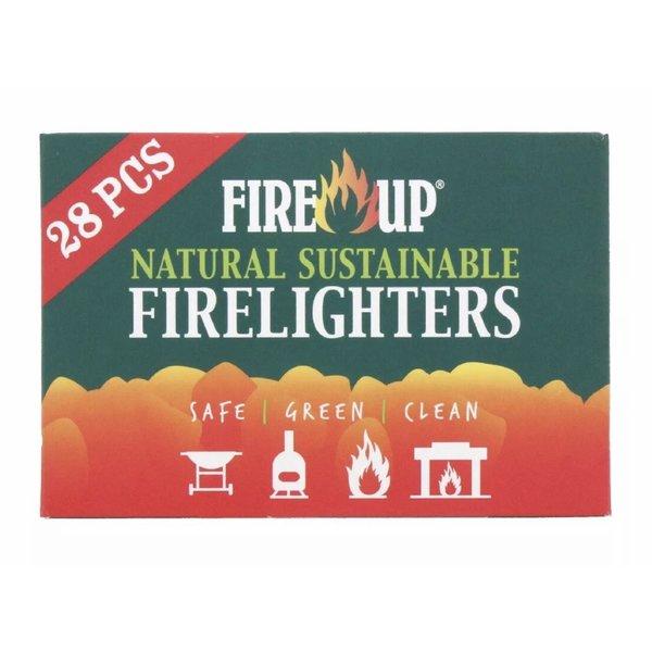 Fire up Natural firelighters 28pk