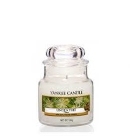 Yankee Linden Tree Small Jar Candle