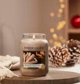 Yankee Yankee Large Jar Candle Crackling Wood Fire