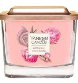 Yankee Salt Mist Peony Medium Elevation Candle