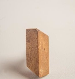Ian Snow Wood Geometrical Knob