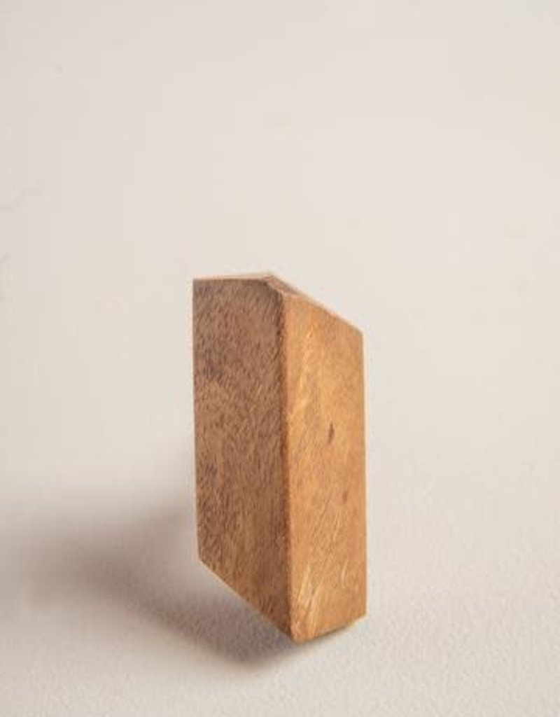 Ian Snow Wood Geometrical Knob