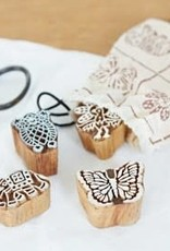 Paper High Wooden Blocks Animal 4 pack stamps