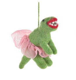 Felt So Good Felt Ballerina Dinosaur