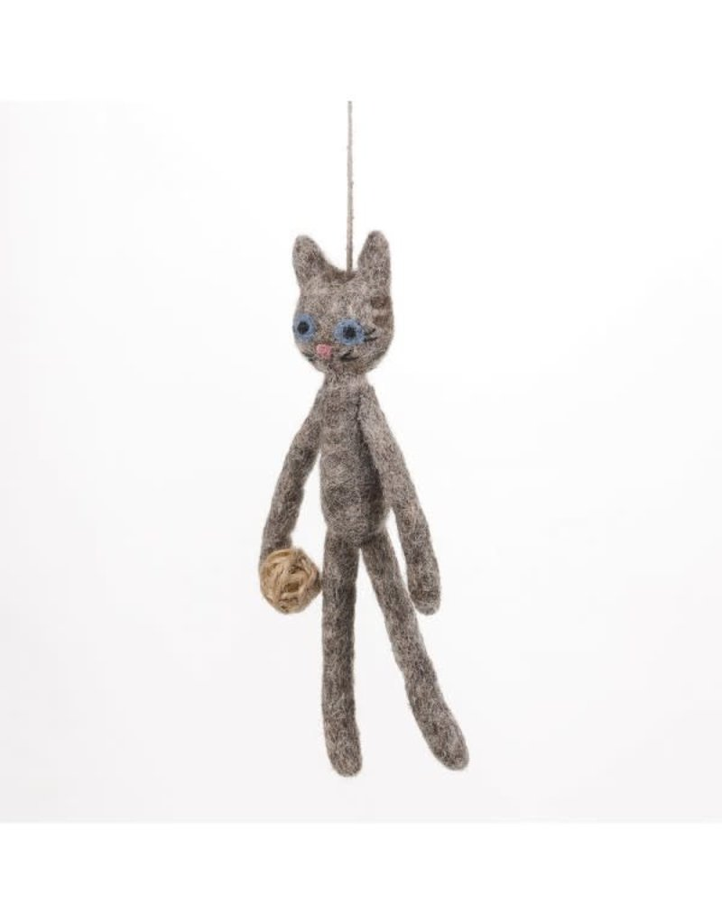 Felt So Good Felt Grey Cat
