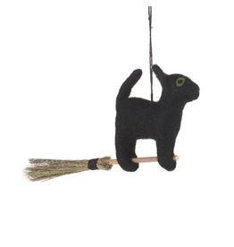 Felt So Good Felt Flying Black Cat
