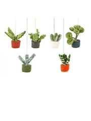 Felt So Good Felt Assorted Mini Hanging Plants