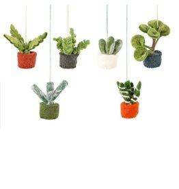 Felt So Good Felt Assorted Mini Hanging Plants