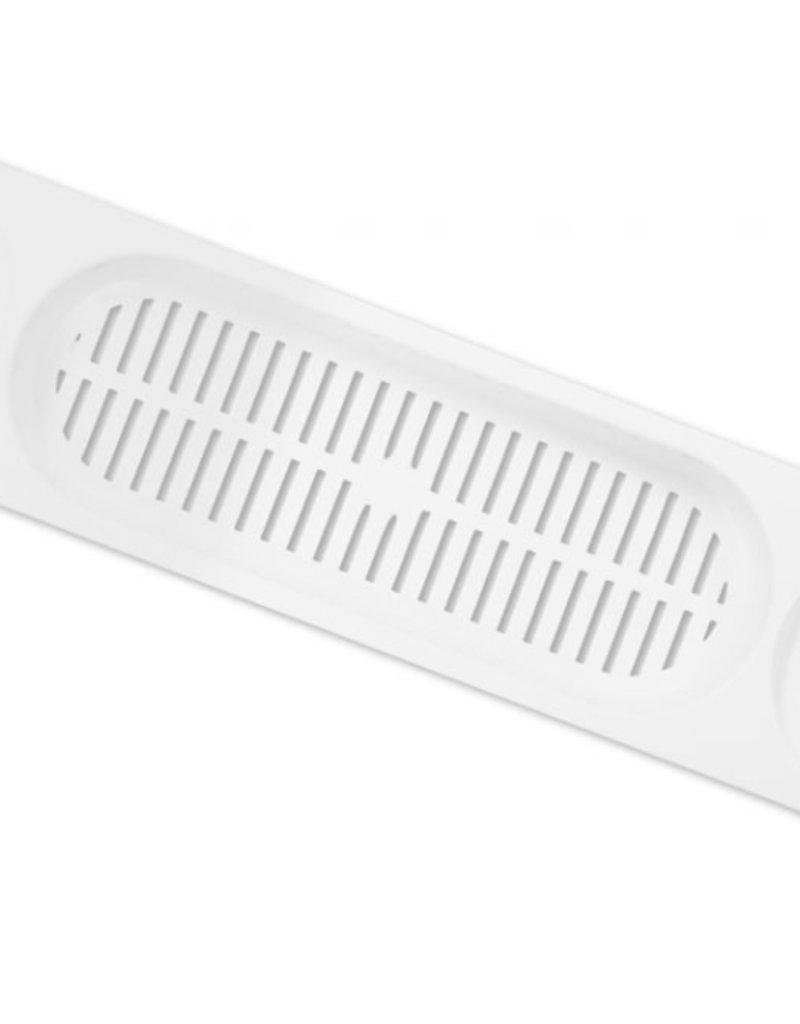 Premier Supreme Plastic Bath Rack White