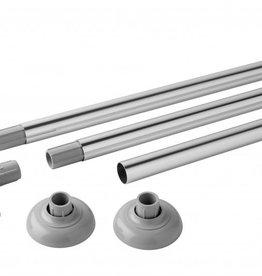 MX Group Luxury Modular Rail Polished Aluminium