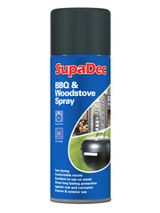 BBQ and woodstove spray paint