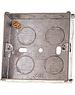 Pro-Elec Steel Back Box 1 Gang 25mm