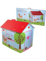 Rex Woodland Animals Playhouse Cardboard